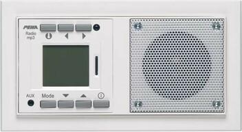 Audio Point Unterputzradios