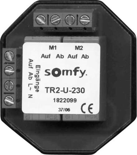 Somfy Trennrelais TR2-U-230 AP für zwei Antriebe 1822108