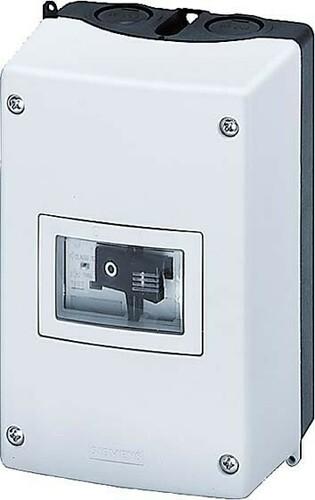 Siemens Indus.Sector Aufbaugehäuse IP55 N E-Klemme 3RV1913-1CA00