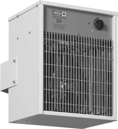 Helios Ventilatoren Ventilator-Heizer stationä r SH 12