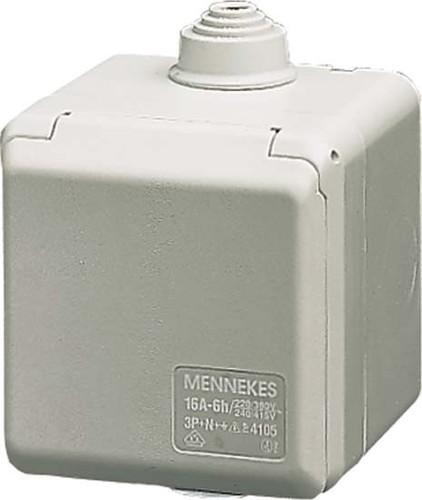 Mennekes Wanddose Cepex 16A,4p,6h,400V,IP44 4103