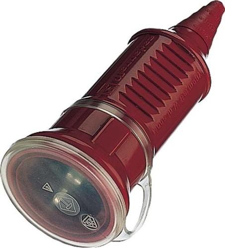 Mennekes Schuko-Kupplung 16A,2p+E,230V,IP44rt 10844