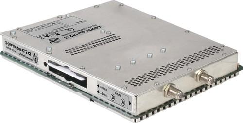 Astro Strobel Signalumsetzer 2-f.DVBC/T2 in 2x1COFDM-Ausgang X-COFDM duo CT2 CI