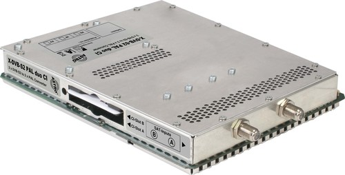 Astro Strobel Signalumsetzer 2-f.DVB-S2 in 2x1PAL-Ausgang X-DVB-S2/PAL duo CI