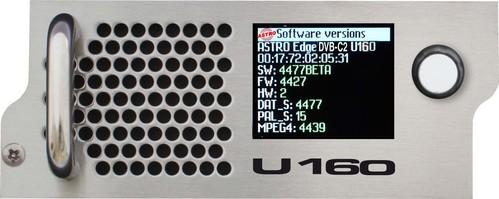 Astro Strobel IP/DVB-C2 Signalumsetzer 2xIP-Multicast2xDVBC U 160