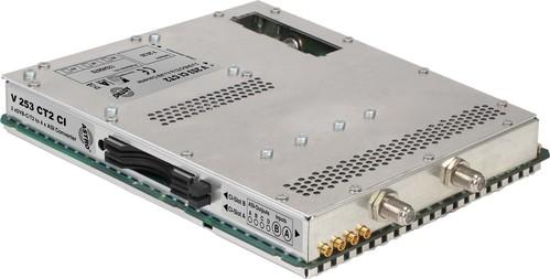 Astro Strobel Signalumsetzer 2-f.DVBC/T2 in 4xASI, für V 16 V 253 CI CT2