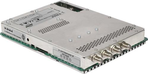 Astro Strobel Signalumsetzer 4-f.DVBS2 in 2x2PAL,für V 16 V 614-4