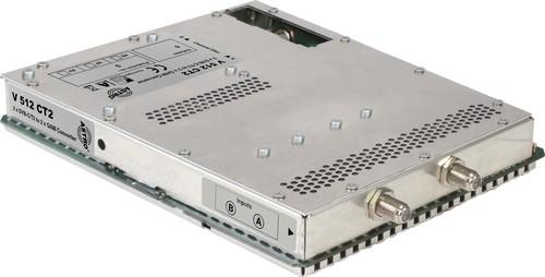 Astro Strobel Signalumsetzer 2-f.DVBC/T2 in 2x1QAM,für V 16 V 512 CT2