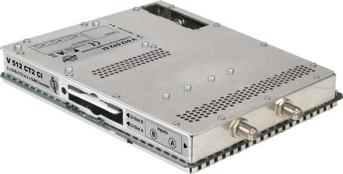 Astro Strobel Signalumsetzer 2-f.DVBC/T2 in 2x1QAM,für V 16 V 512 CI CT2