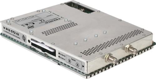 Astro Strobel Signalumsetzer 2-f.DVBC/T2 in 1x2PAL,für V 16 V 912 CT2 CI