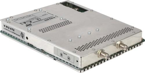Astro Strobel Signalumsetzer 2-f.DVBC/T2 in 2x1COFDM,für V 16 V 912 CT2