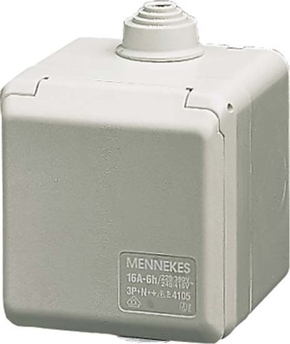 Mennekes Wanddose Cepex 16A,3p,6h,230V,IP44 4102