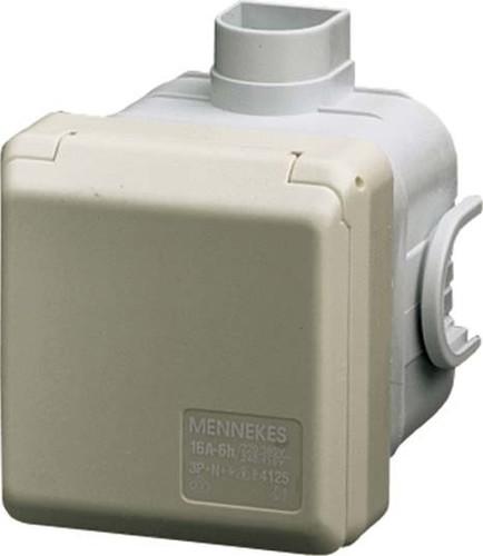 Mennekes Schuko-UP-Dose Cepex 16A,2p+E,230V,IP44 4972