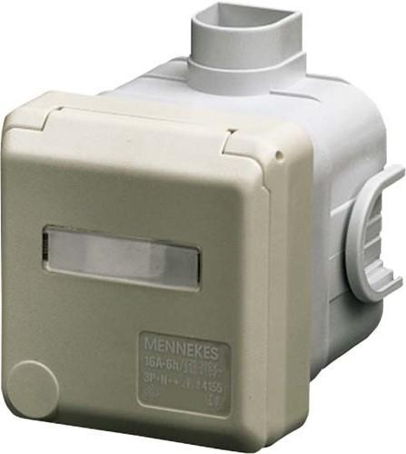 Mennekes Schuko-UP-Dose Cepex 16A,2p+E,230V,IP44 4975