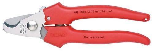 Knipex-Werk Kabelschere poliert, 165mm 95 05 165 SB