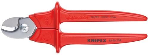 Knipex-Werk Kabelschere poliert, 230mm 95 06 230 SB