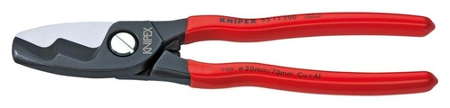 Knipex-Werk Kabelschere mit Doppelschneide 95 11 200
