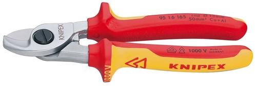 Knipex-Werk Kabelschere isoliert, 165mm 95 16 165 SB
