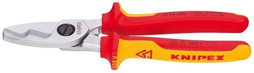 Knipex-Werk Kabelschere isoliert, 200mm 95 16 200