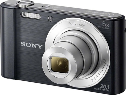 Sony Digital-Fotokamera 20,1MP,schwarz DSCW810B.CE3