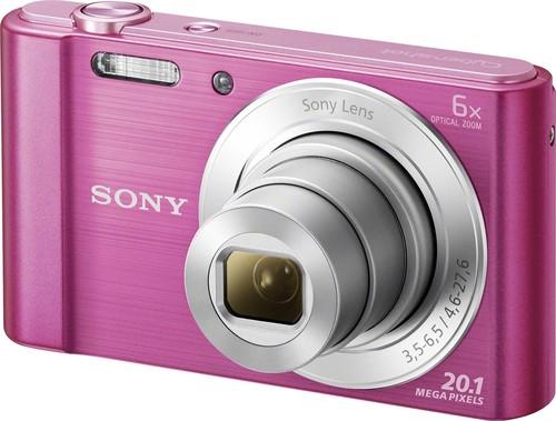 Sony Digital-Fotokamera 20,1MP,pink DSCW810P.CE3