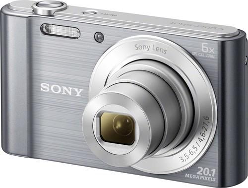 Sony Digital-Fotokamera 20,1MP,silber DSCW810S.CE3