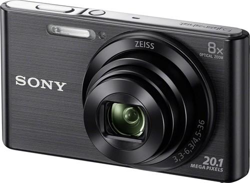 Sony Digital-Fotokamera 20,1MP,schwarz DSCW830B.CE3