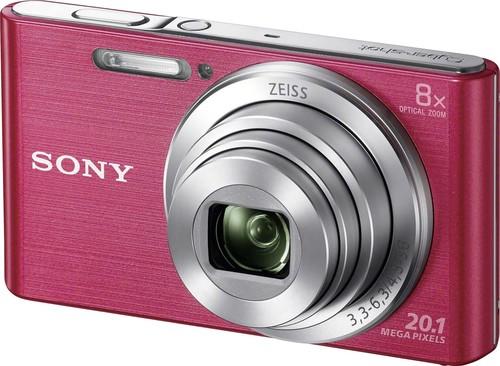 Sony Digital-Fotokamera 20,1MP,pink DSCW830P.CE3