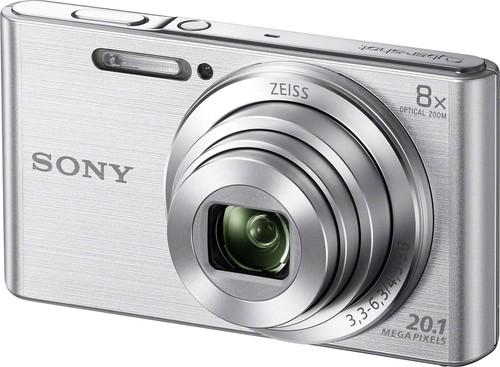 Sony Digital-Fotokamera 20,1MP,silber DSCW830S.CE3