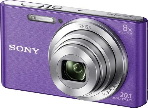 Sony Digital-Fotokamera 20,1MP,violett DSCW830V.CE3