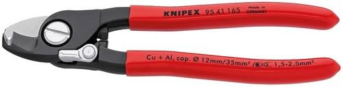 Knipex-Werk Kabelschere m. Abisolierfunktion 95 41 165