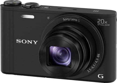 Sony Digital-Fotokamera 18,2MP,WiFi,sw DSCWX350B.CE3