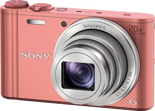 Sony Digital-Fotokamera 18,2MP,WiFi,pink DSCWX350P.CE3