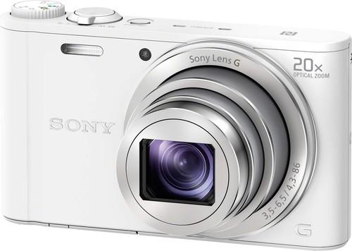 Sony Digital-Fotokamera 18,2MP,WiFi,ws DSCWX350W.CE3