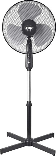 DeKo Standventilator 40cm, 45W, osz. B 419 Stratos sw