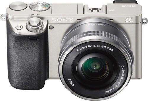 Sony Digital-Fotokamera 24,3MPWiFiNFCSELP165 ILCE6000LS.CEC