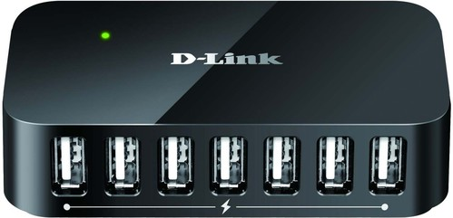 DLink Deutschland USB 2.0 7Port Hub 7xA-Port,1xB-Port DUB-H7/E