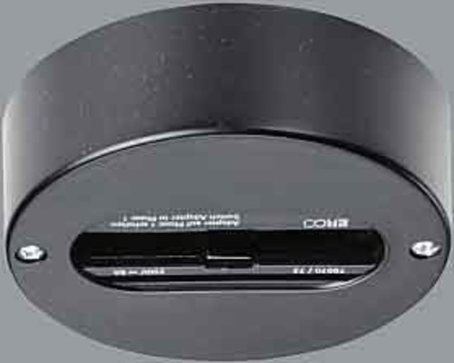 Erco Leuchten Punktauslass schwarz 1-Phasen Aufbau 79038.000