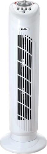 DeKo Turmventilator Höhe 75 cm, 50W B 292 Stratos weiß