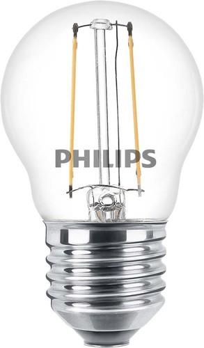 Philips Lighting LED-Lampe E27 827 P45 klar CLA LEDlust#57415700