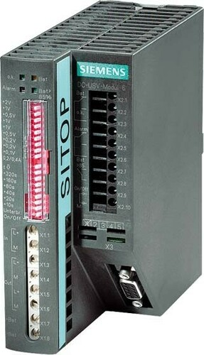 Siemens Indus.Sector DC-USV mit Batterien 24VDC,15A 6EP1931-2EC21