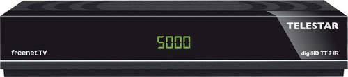 Telestar DVB-T2/C HDTV-Receiver HDMI,PVR digiHDTT7IR