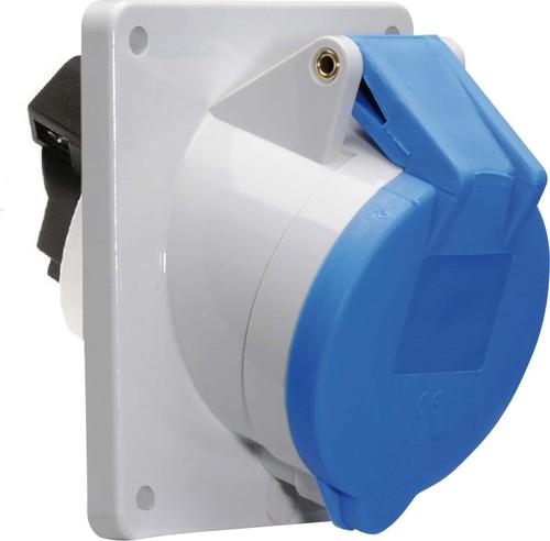 Bals Elektrotech. Anbausteckdose geneigt 16A 3p 230V 6h IP44 12080