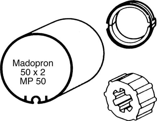 Somfy Adapter LS 40 MP 50x2,0 9132139
