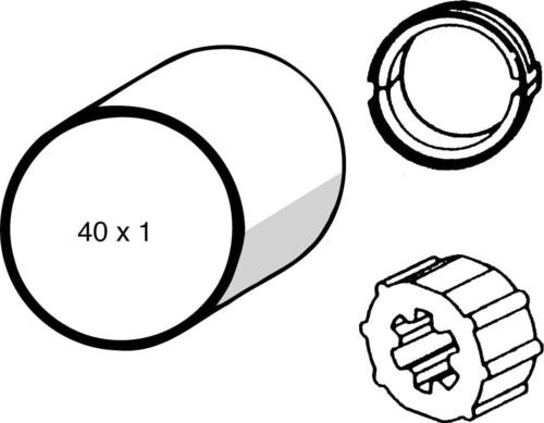 Somfy Adapter LS 40 40x1,0 9132143