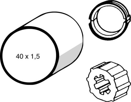 Somfy Adapter LS 40 40x1,5 9147330