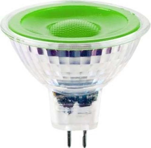 Scharnberger+Hasenbein LED-Reflektorlampe MR16 GU5,3 12V grün 38° 38291