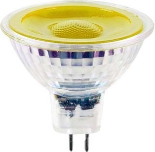 Scharnberger+Hasenbein LED-Reflektorlampe MR16 GU5,3 12V gelb 38° 38293