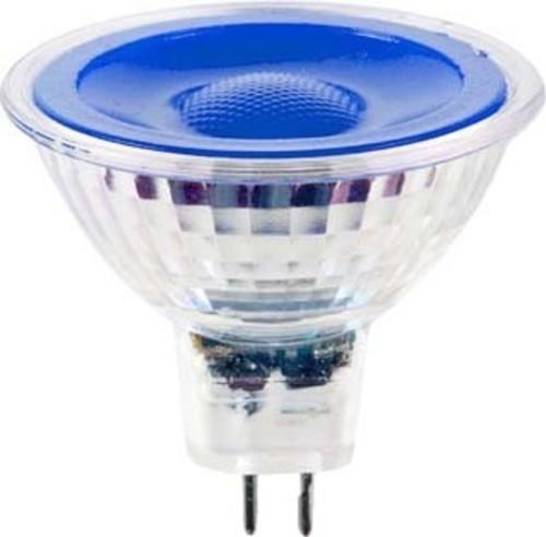 Scharnberger+Hasenbein LED-Reflektorlampe MR16 GU5,3 12V blau 38° 38295