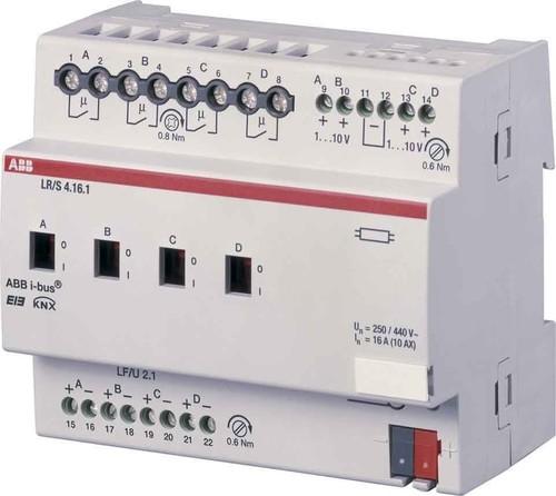 ABB Stotz S&J Lichtregler/Schaltdimmakt. 4-fach, 1-10V, REG LR/S4.16.1